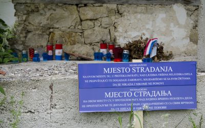 Activists mark sites of suffering in Central Bosnia and around Sarajevo